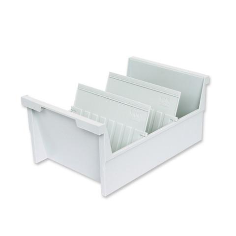 Картотека для карточек Han А5 на 1000 карточек (325x226x160 мм, открытая)