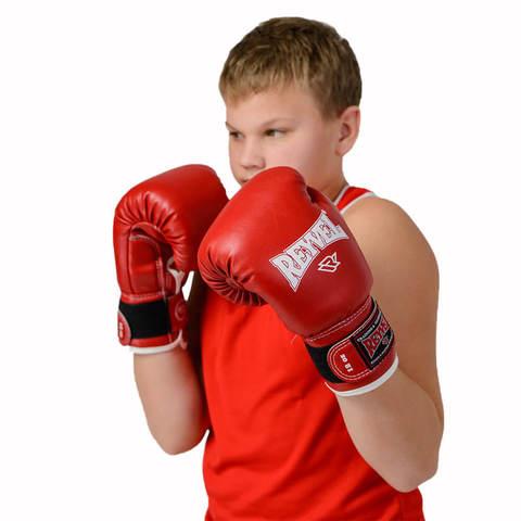 Перчатки боксерские Reyvel RV-101 красные