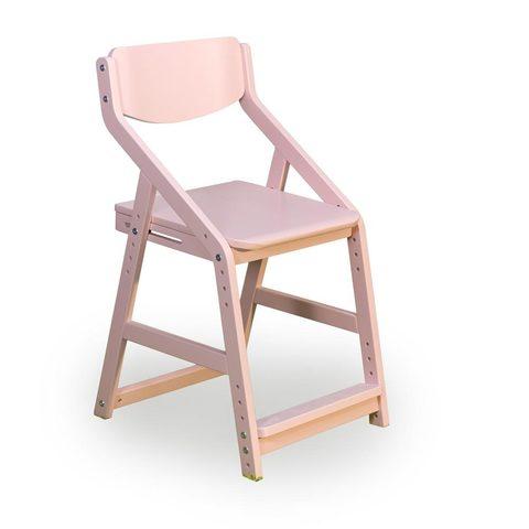 Стул растущий «Робин Wood» розовый