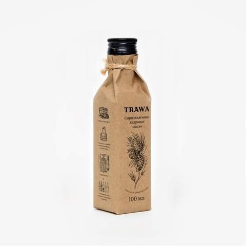 TRAWA, Масло сыродавленное кедровое, 100мл