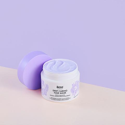 Маска- смузи для интенсивного восстановления волос  ikoo deep caring hair mask