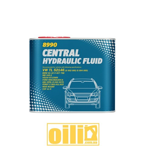 Mannol 8990 CENTRAL HYDRAULIC FLUID 0,5л