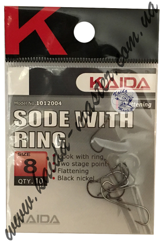 Крючки Kaida 1012004-16