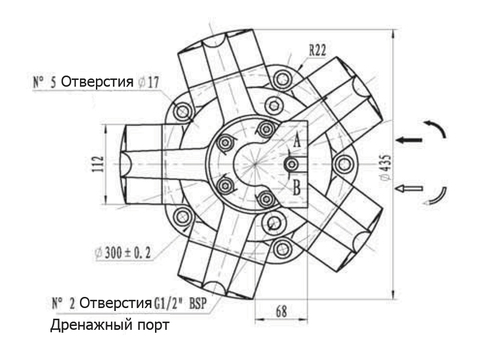 Гидромотор IPM5-1000