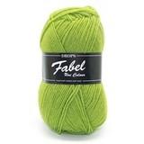 Пряжа Drops Fabel 112 зеленое яблоко
