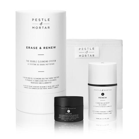 Pestle & Mortar Набор для очищения кожи ERASE & RENEW