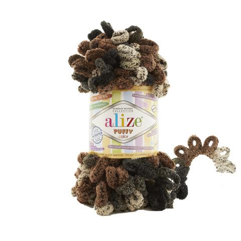 Купить Пряжа Alize Puffy Color Код цвета 6083 | Интернет-магазин пряжи «Пряха»