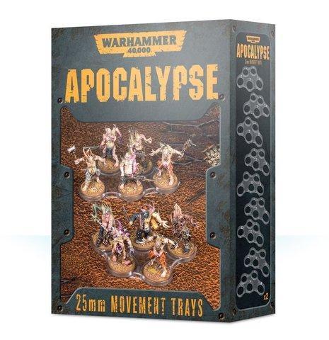Apocalypse Movement Trays 25 mm