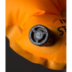 Надувной коврик Klymit Insulated Static V Lite, оранжевый - 2