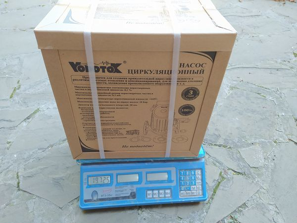 Циркуляционный насос Vodotok (Водоток) WRS 50-1500-F