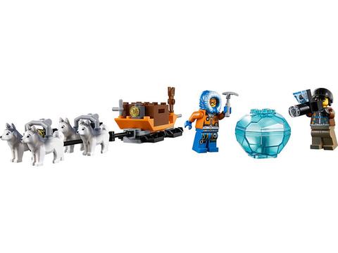 LEGO City: Арктический вертолёт 60034 — Arctic Helicrane — Лего Сити Город