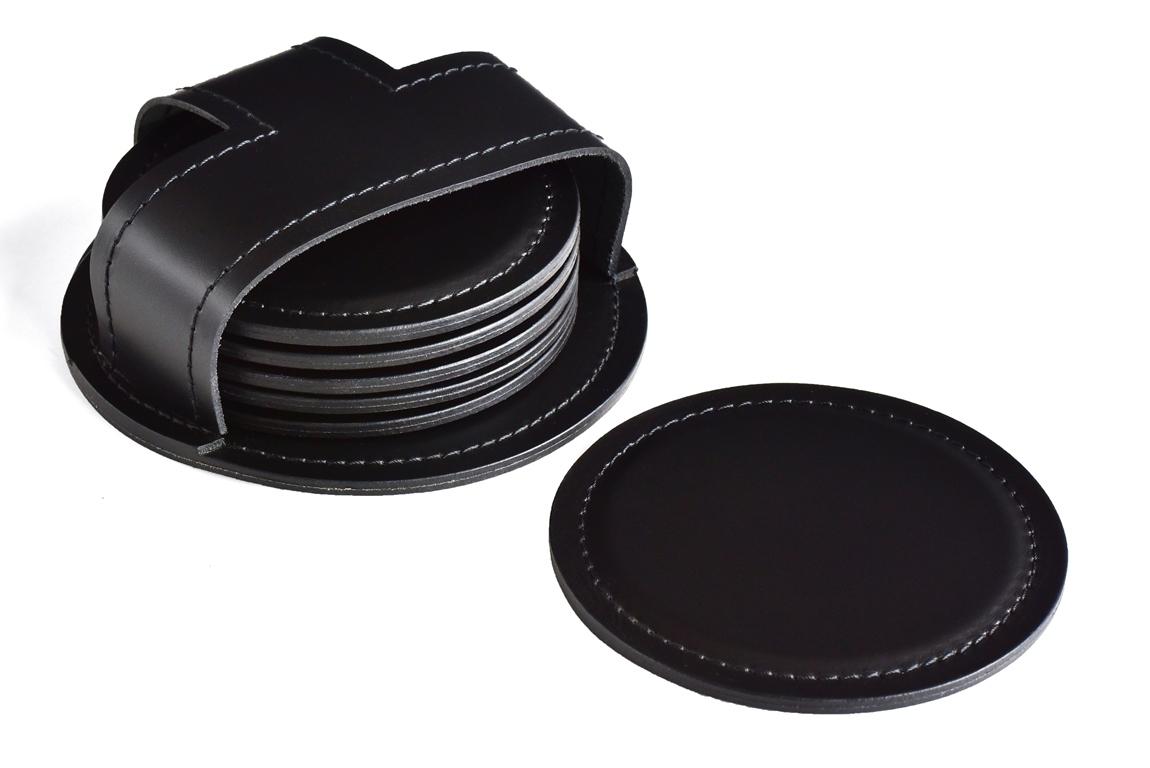 черные костеры кожаные
