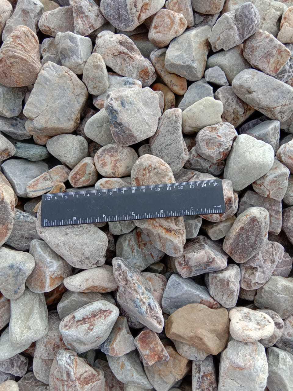 Галька декоративный щебень Медовый 20-40 мм