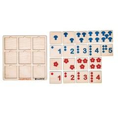 Логическая игра Таблицы Шульте для малышей