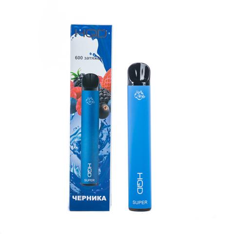 Одноразовая электронная сигарета HQD SUPER Blueberry-Raspberry (Черника, Малина)