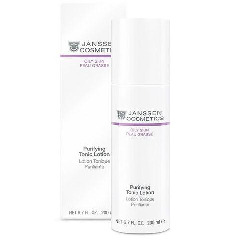 Janssen Oily Skin: Тоник для жирной кожи лица и кожи с акне (Purifying Tonic Lotion)