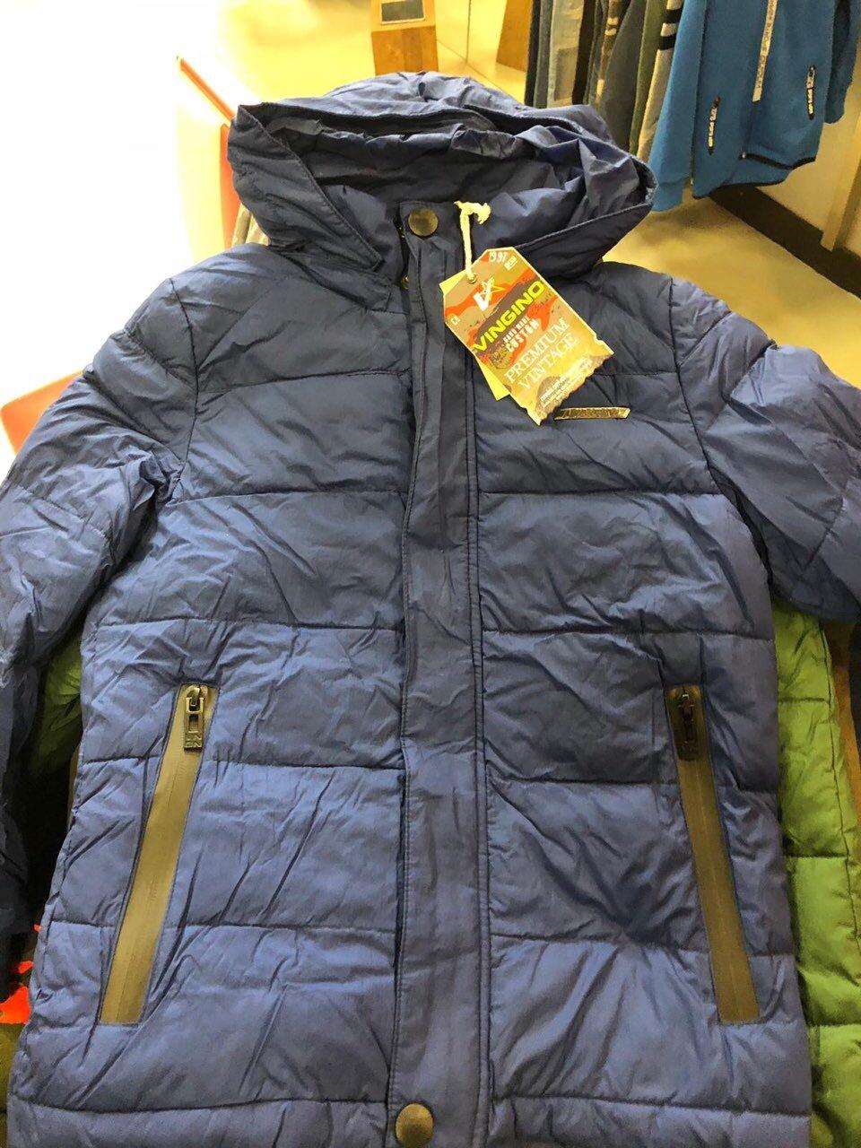 Детские зимние куртки из Европы.