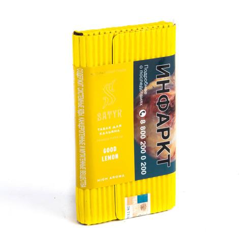 Табак Satyr Good Lemon (Лимон) 100 г
