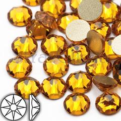 Купить стразы оптом на Севере Москвы Xirius 8+8 Топаз желтые