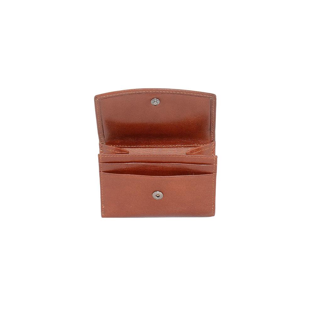 B120347R Cognac - Портмоне с RFID защитой MP