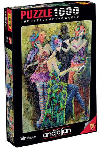 Puzzle Renk Üçlüsü. Color Trio 1000 pcs