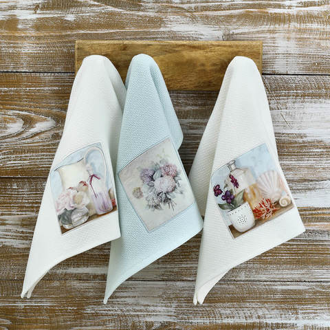 Набор салфеток BLUEBELL 3пр по 40х60 TIVOLYO HOME Турция