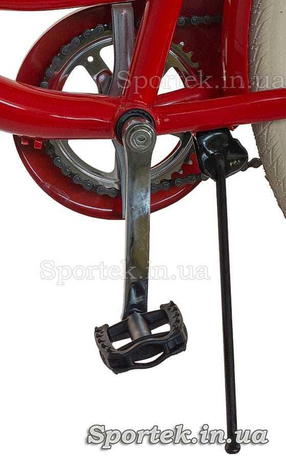 Подножка городского универсального велосипеда Дорожник Люкс 2016