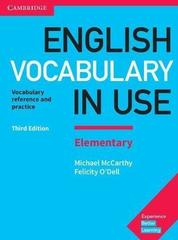 English Vocabulary in Use: Elementary (3rd Edition) Book with answers and Enhanced eBook