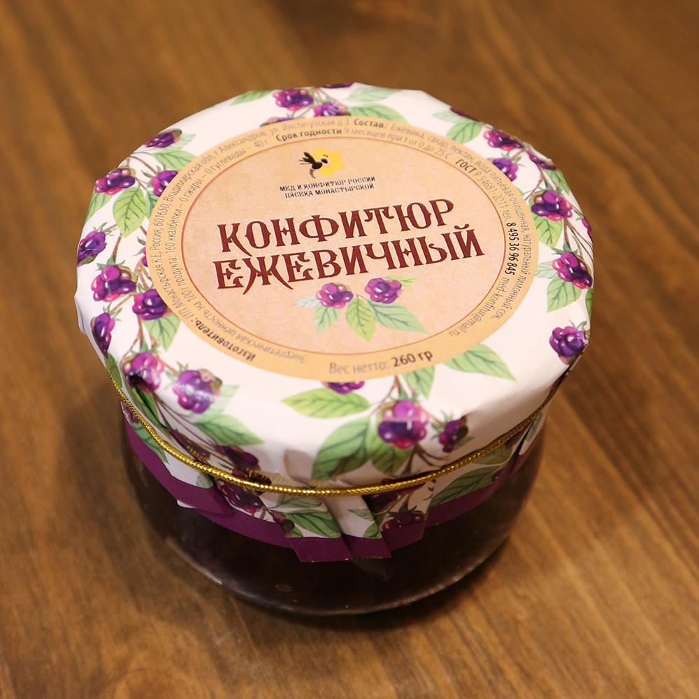 Купить конфитюр ежевичный в Перми