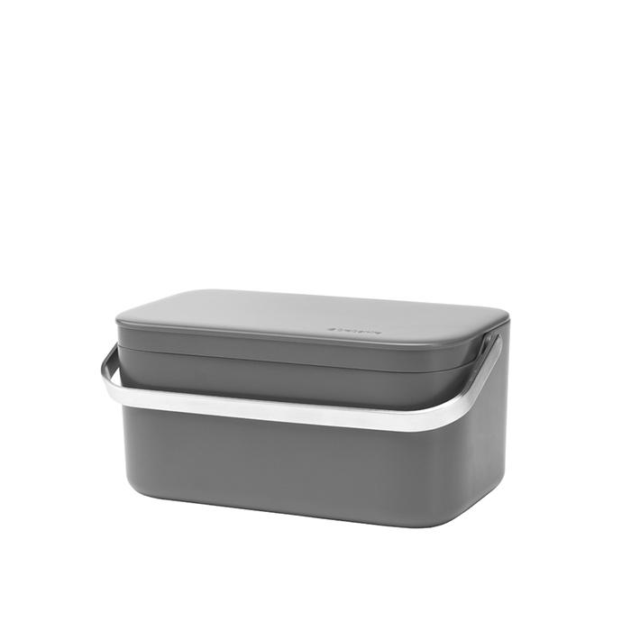 Контейнер для пищевых отходов, Темно-серый, арт. 117541 - фото 1