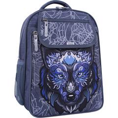 Рюкзак школьный Bagland Отличник 20 л. 321 серый 506 (0058070)