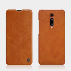 Чехол-книжка Nillkin Qin Leather Case для Xiaomi Mi 9T/ 9T Pro (Коричневый)