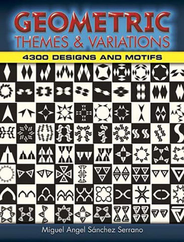 9780486462752 - Geometric Themes and Variations: 4,300 Designs and Motifs