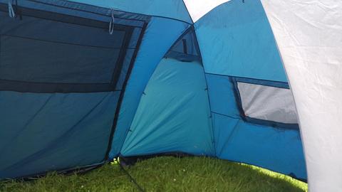 Палатка Canadian Camper SANA 4 PLUS, цвет royal, боковое окно 2.