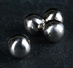 Набор камней для виски «Шар», 2 см, нержавеющая сталь, фото 1