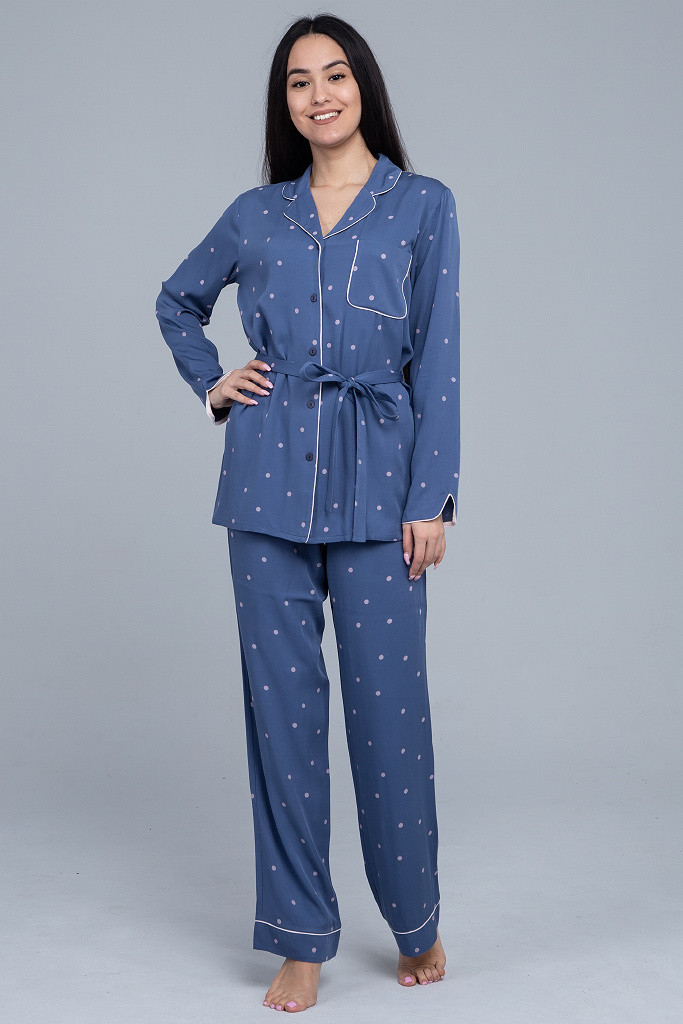 Элитная пижама из вискозы Pluto