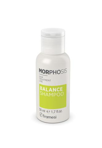 Шампунь для решения проблем жирной кожи головы MORPHOSIS BALANCE SHAMPOO, 50 мл