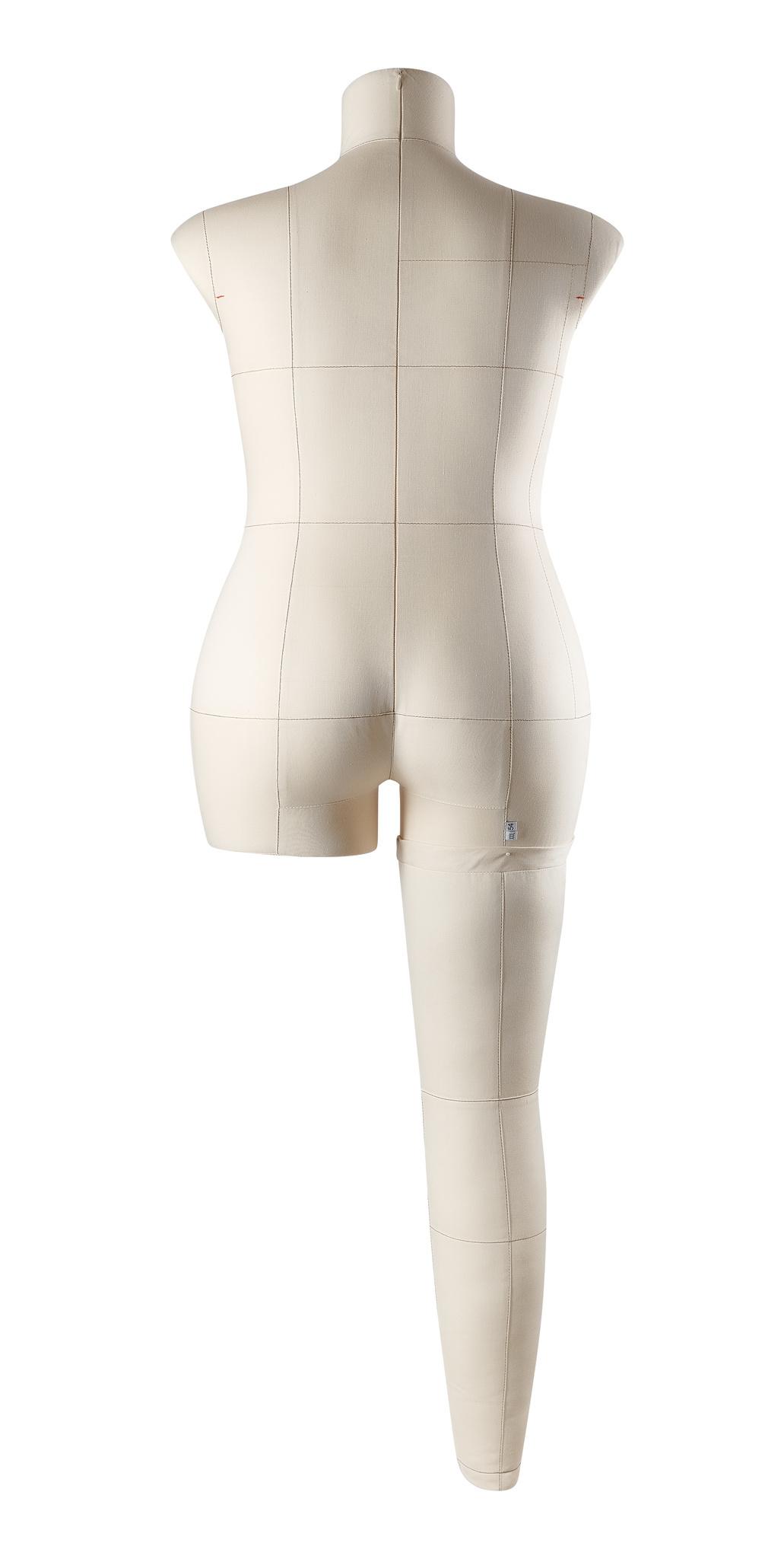 Нога бежевая для манекена Моника, размер 54Фото 2