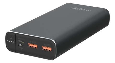 Универсальный аккумулятор ANSMANN Powerbank 20000мА - черный