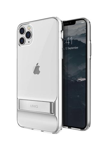Чехол Uniq Cabrio для iPhone 11 Pro | с раскладной стойкой прозрачный