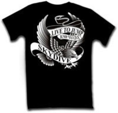 Парашютная футболка