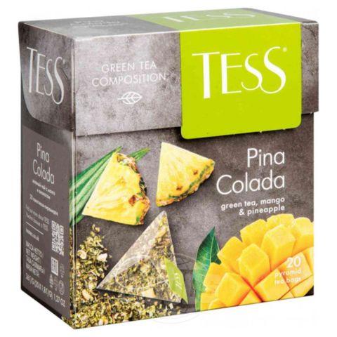 Чай TESS Зеленый Pina Colada 20*1,8 гр п/пак РОССИЯ