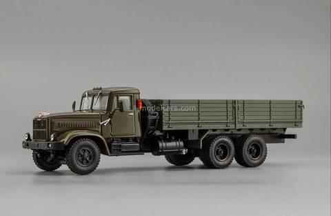 KRAZ-257B1 1987-1994 khaki 1:43 Nash Avtoprom