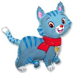 Любимый котенок. Синий.