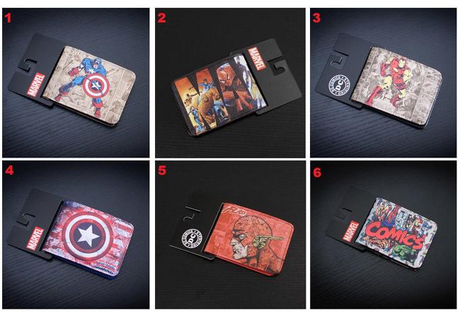 DC Comics Marvel Wallet Set 3