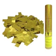 AC 30см Пневмохлопушка в пластиковой тубе Золотое конфетти