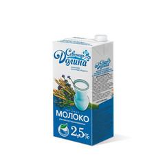 Молоко Северная Долина ультрапастеризованное 2,5% 950 гр