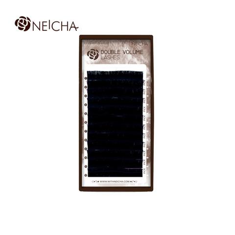 Ресницы NEICHA нейша двухъярусные MIX DOUBLE VOLUME 12 линий