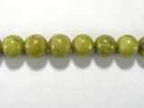 Бусина из опала зеленого, шар гладкий 6мм