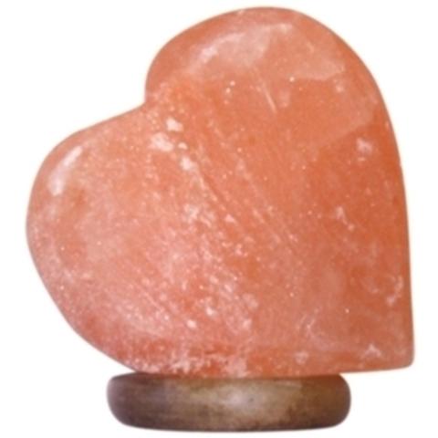 ZENET S-Heart Солевая лампа
